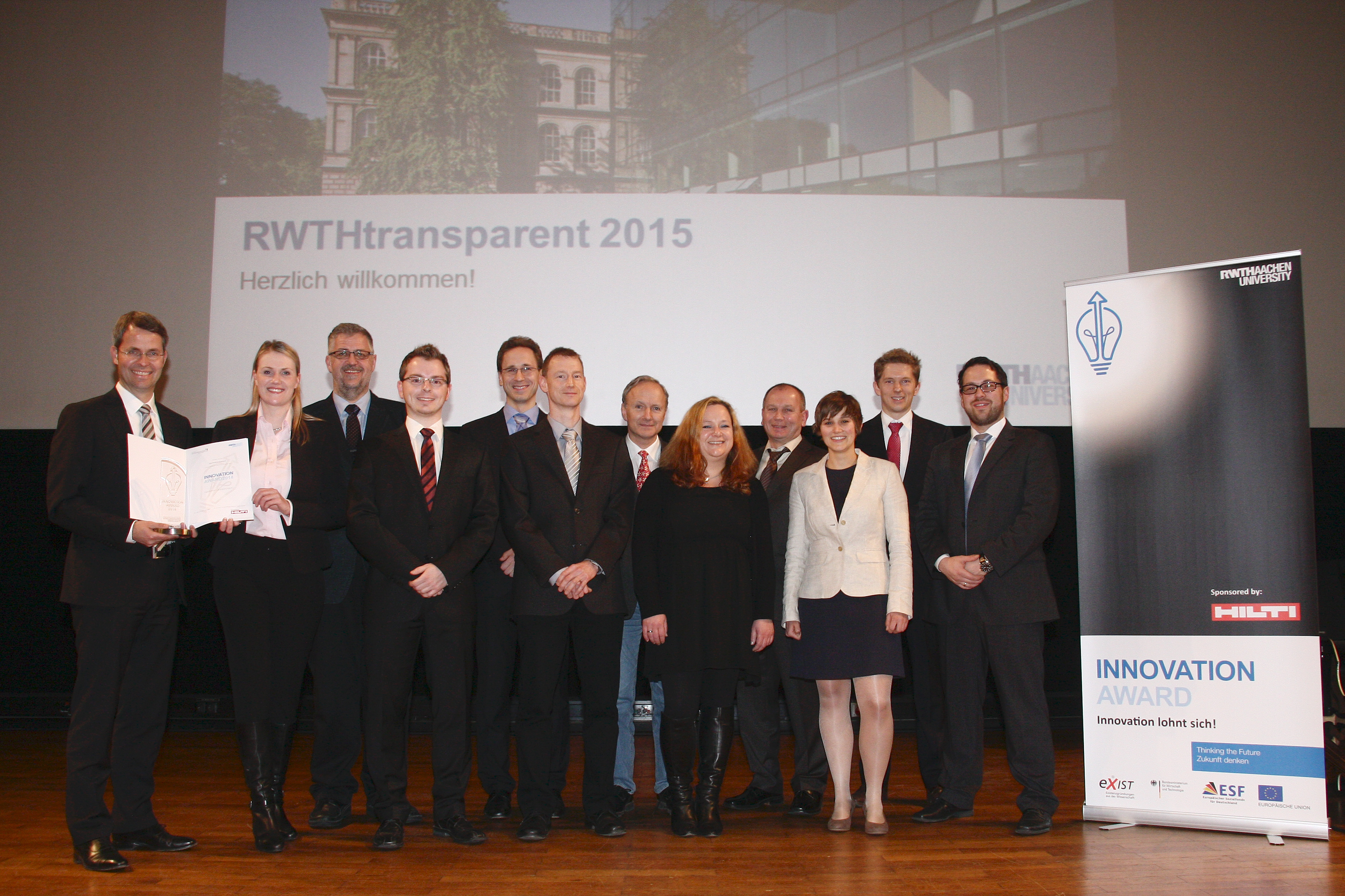 IAS wins 2nd place in RWTH Aachen University Innovation Award 2014